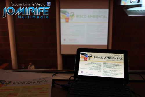 Realização Audiovisual de Colóquio sobre Risco Ambiental [en] Audiovisual for Colloquium on Environmental Risk