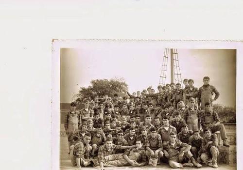 Alunos da escola Profissional de pesca de Lisboa.j