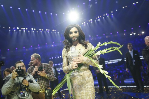 Conchita Wurst - créditos Thomas Hanses EBU