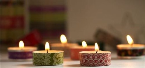 Christmas-crafts-Christmas-Washi-tea-light-candles