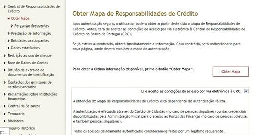 mapa responsabilidades credito