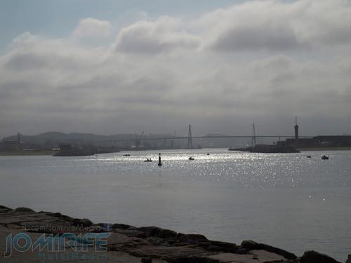 Ponte da Figueira da Foz vista do molhe