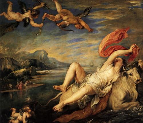 Peter Paul Rubens Rapto da europa1628/9 Museo del Prado