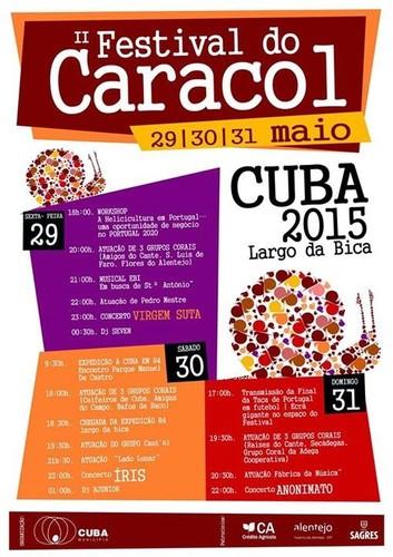 Cartaz Festival do Caracol 2015 @ Cuba.jpg