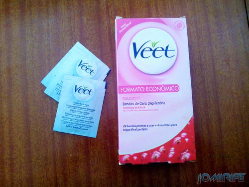 Bandas de depilação Veet [en] Bands Veet hair removal