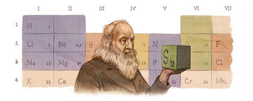 Dmitri Mendeleev - Doodle II