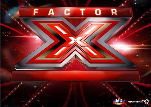 Logotipo grande do Factor X