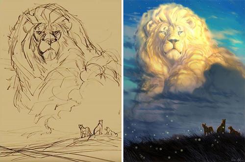 Aaron-Blaise-tribute-Cecil-lion-king.jpg