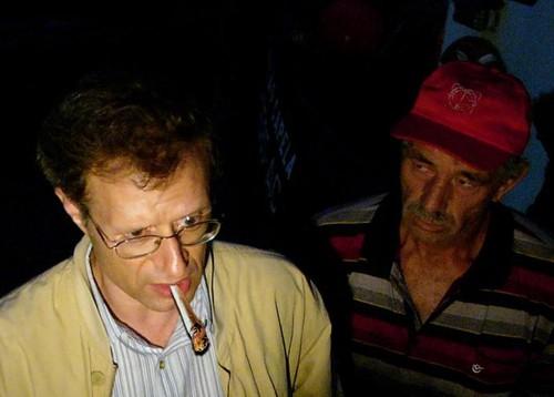 Louçã fuma um charro (in Homem das Tabernas, 2008)