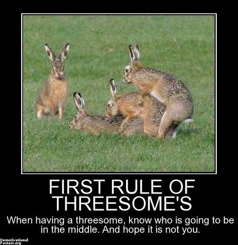 First Rule Of Threesome's
