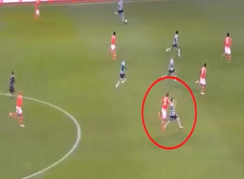 As agressões dos jogadores do Benfica aos jogadores do Sporting que não foram sancionadas pelo árbitro 2/5