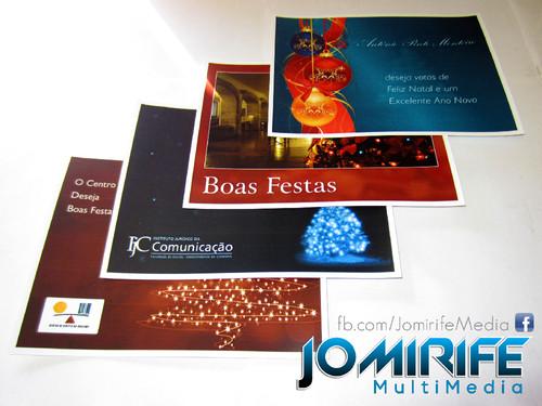 Cartões de Natal personalizados (logótipo de empresa, texto, foto e/ou ilustrações, e tamanho desejado) [en] Personalised Christmas Cards (company logo, text, picture and/or illustrations, and desired size)