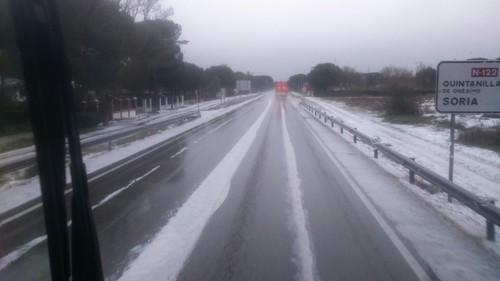 Pelas estradas de Espanha - Neve
