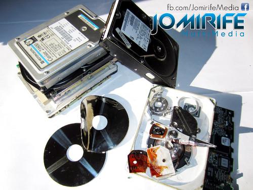 Destruição suportes digitais/discos HDD