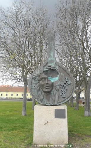 Estátua Homenagem ao Fado - Amália Rodrigues