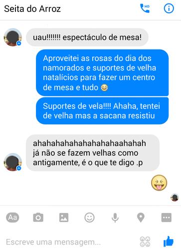 Conversa Seita do Arroz - Maria das Palavras