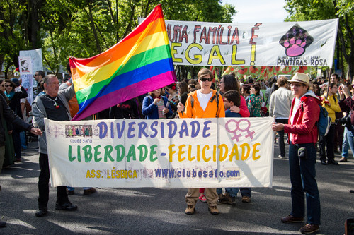 (Avenida da Liberdade, 25 de abril de 2014)