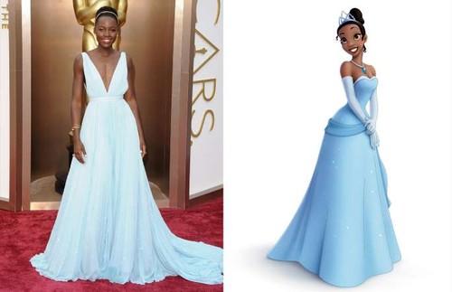 Lupita Nyong'o - Princesa Tiana (A Princesa e o Sa