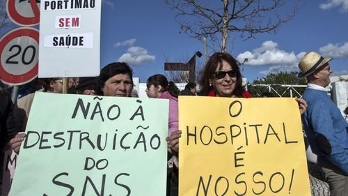 Manif Saúde Portimão
