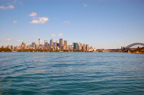 Viagem de ferry em Sydney