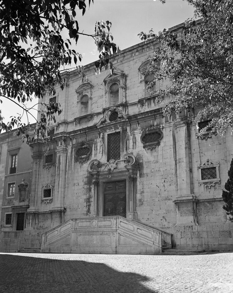 Igreja do Menino Deus, fachada principal, foto de