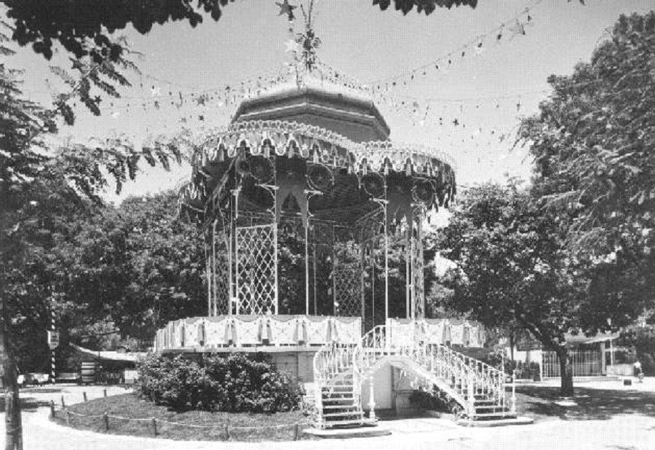 Coreto do Jardim da Estrela, foto de Armando Serô