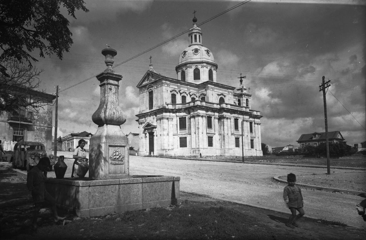 Igreja da Memória e chafariz da Memória antónio