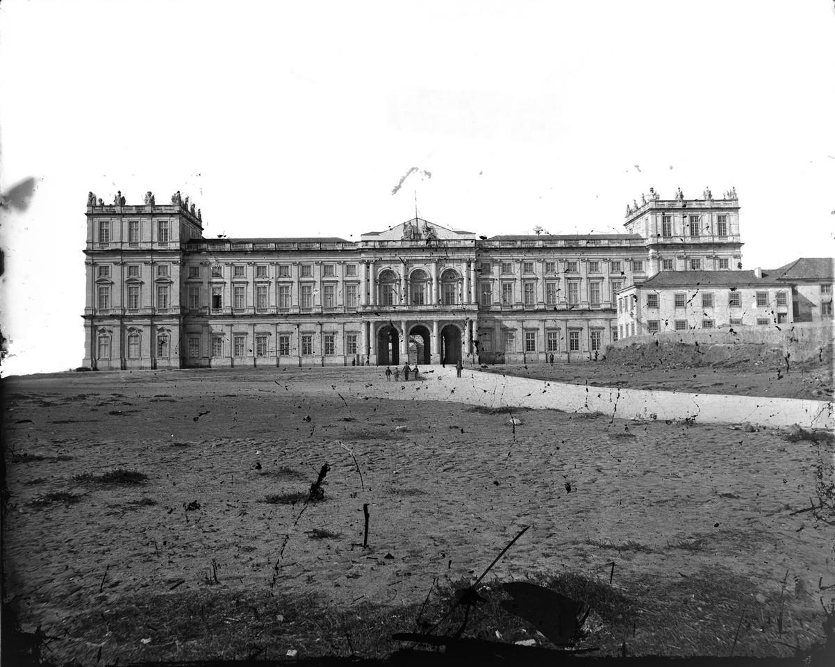 Palácio Nacional da Ajuda, fachada, anterior a 18