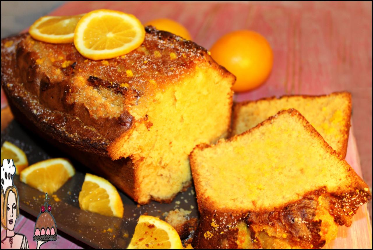 Receita de bolo gourmet de laranja