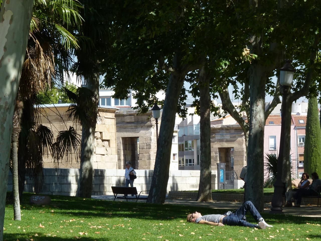 Romântica Madrid-Templo de Debod (3).JPG