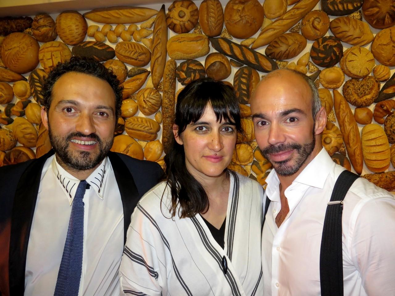 Silk, Joana Astolfi, Nuno Carvalho (CEO d'A PADARIA PORTUGUESA)
