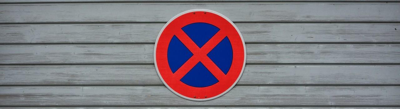 Proibido estacionar (imagem pixabay) | Maria das Palavras