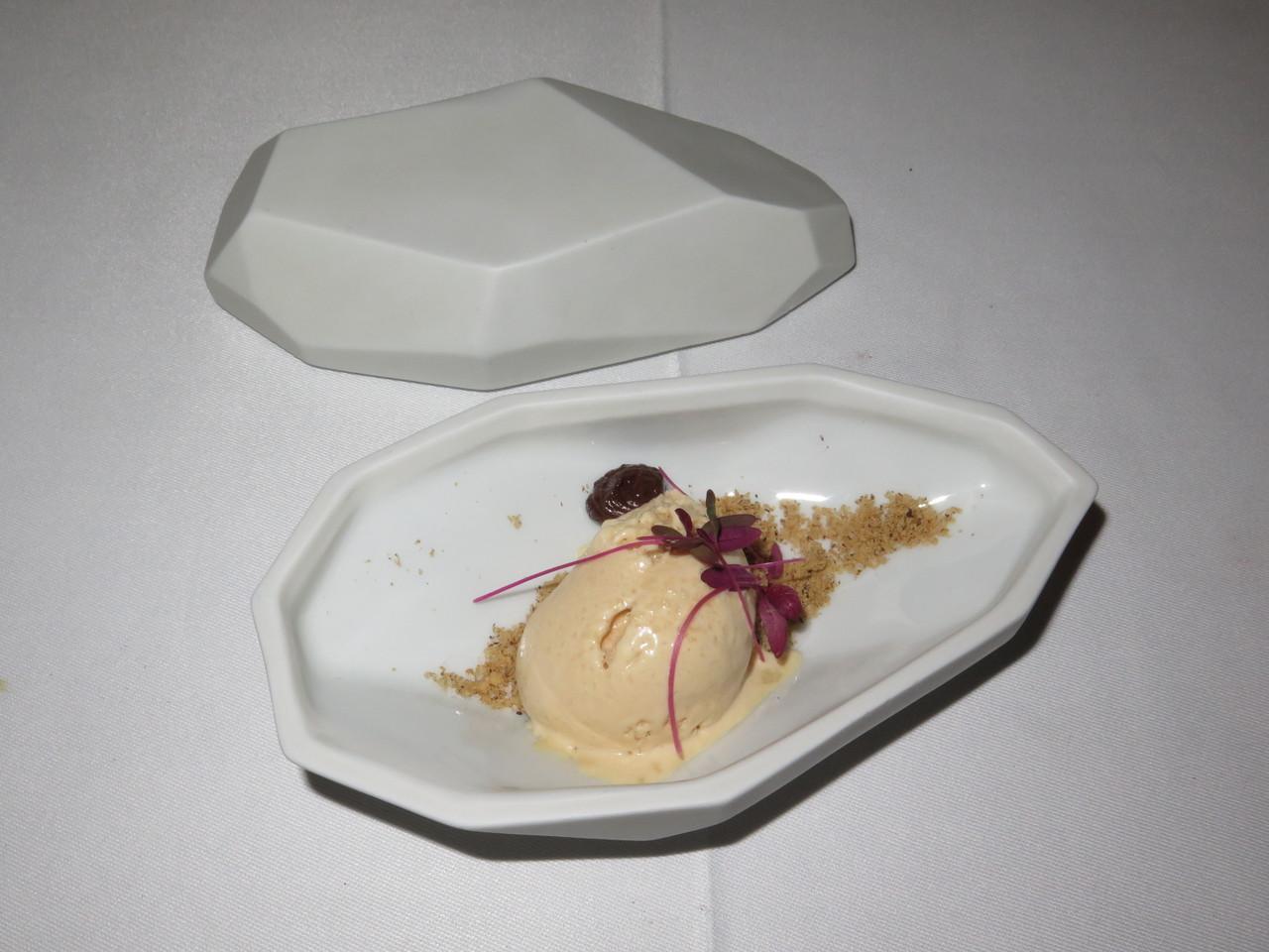 Foie gras e cogumelos... à sobremesa!