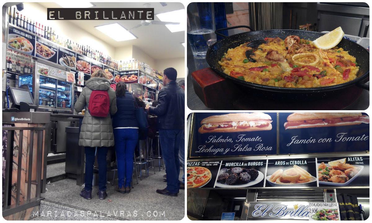 El Brillante - Tapas | Madrid - Maria das Palavras