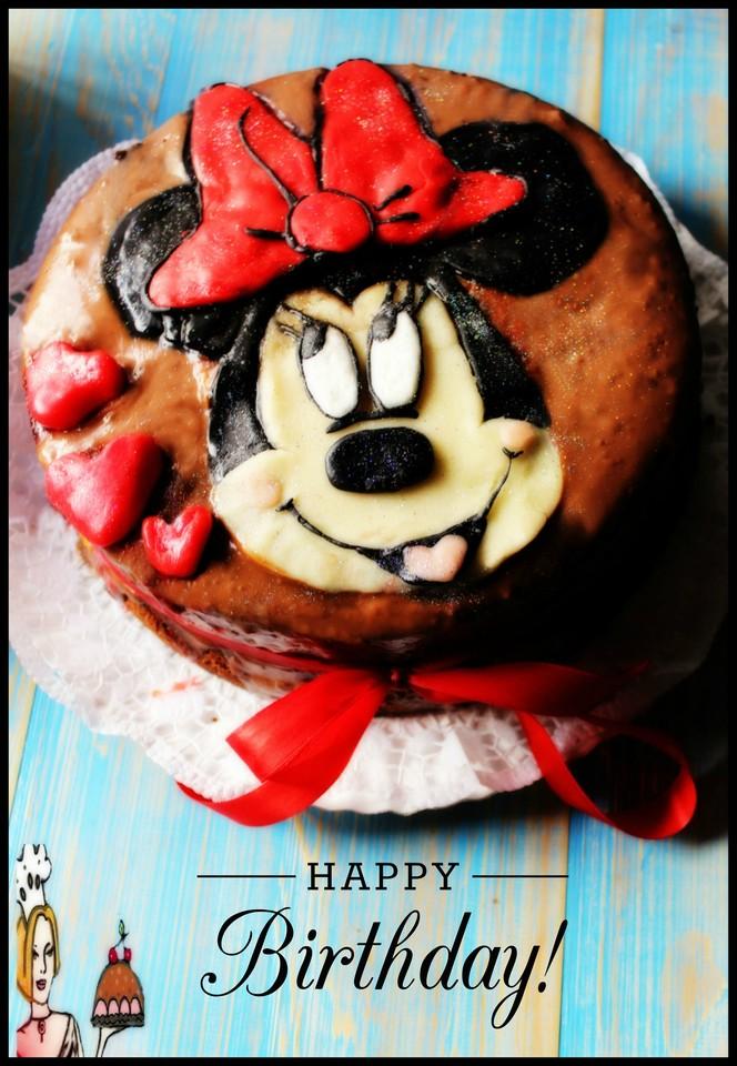 Bolo de aniversário da Minnie