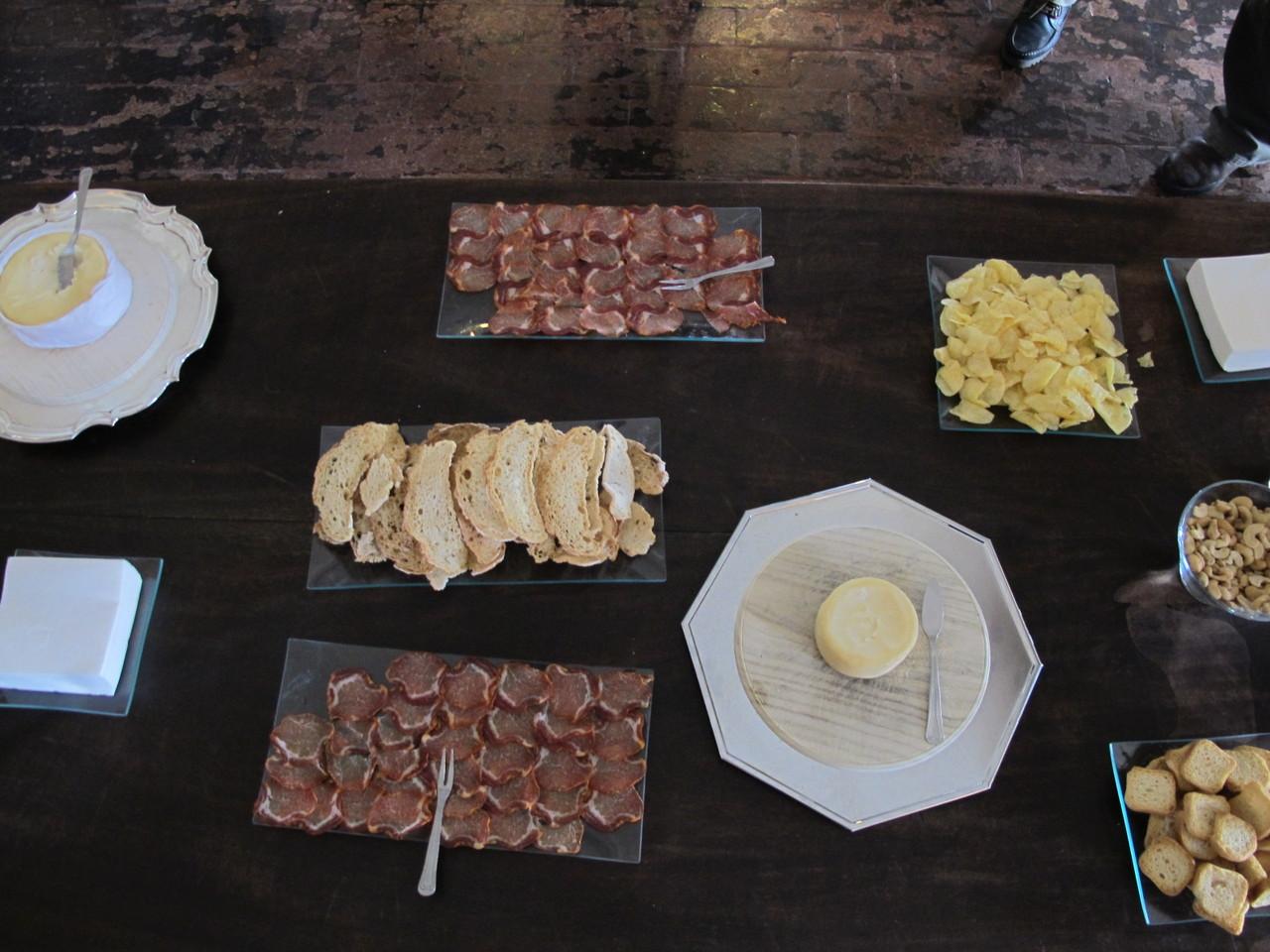 O queijo Serra da Estrela era maravilhoso!