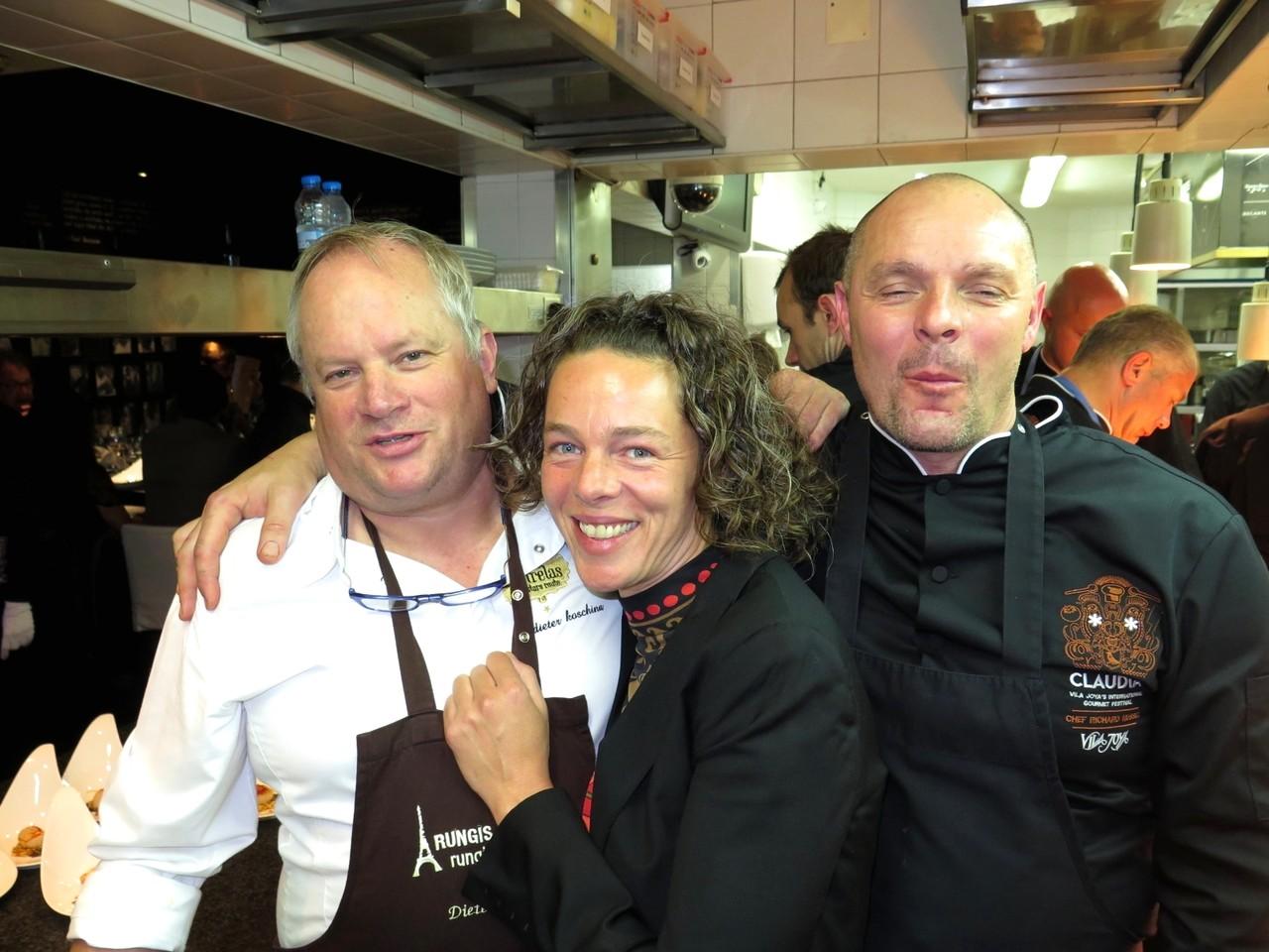 Dieter Koschina, Joy Jung & Ricard Nussel