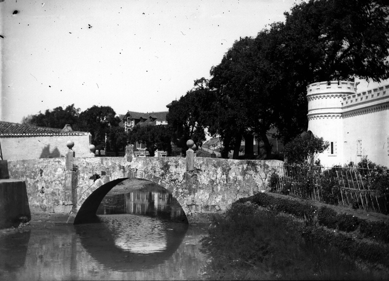 Ponte e Portas de Algés, fotógrafo ni, in a.f. C