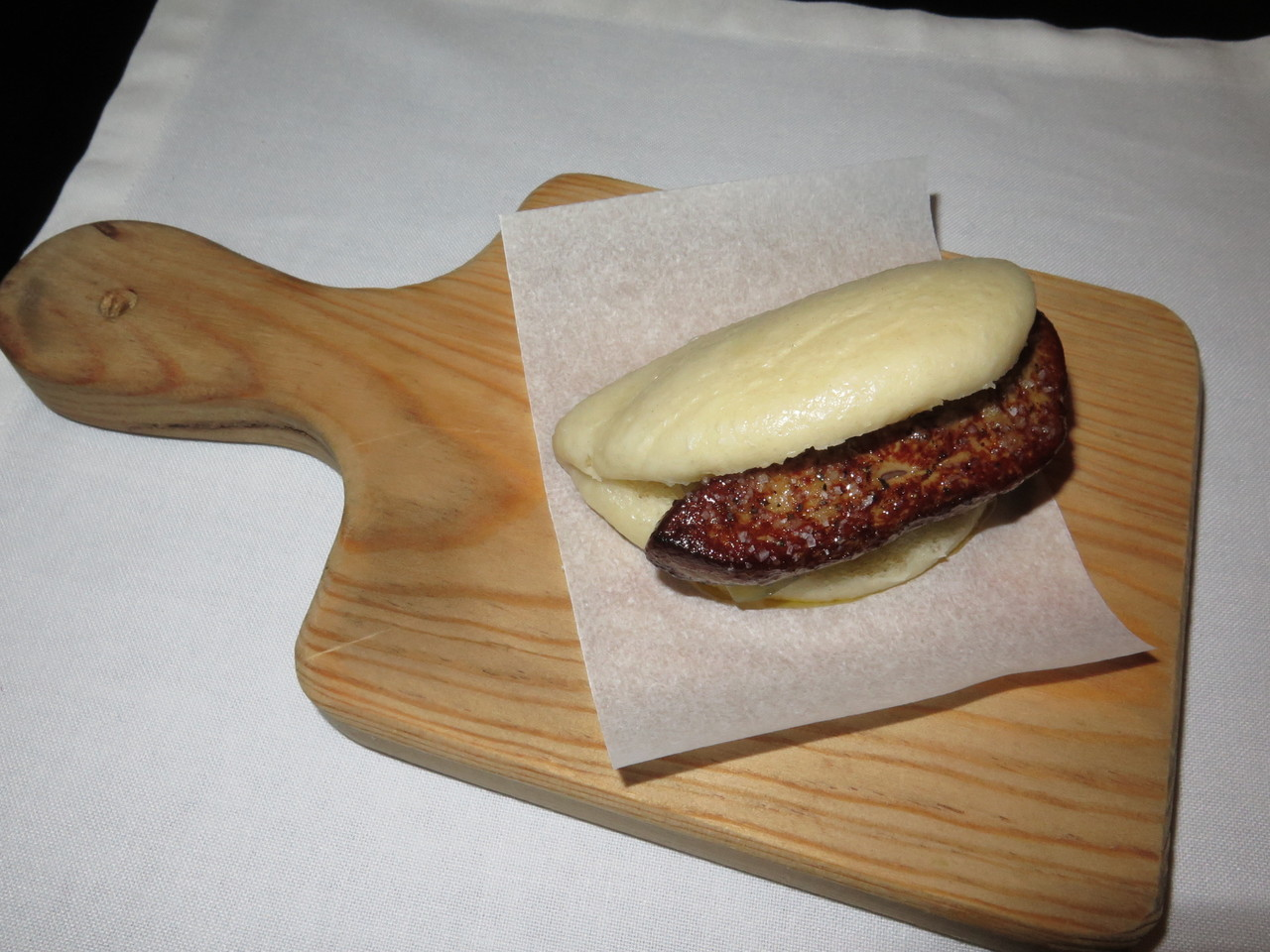 Bao de foie gras