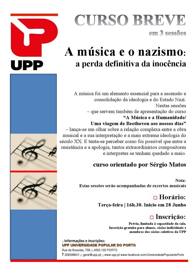 UPP Musica e Nazismo
