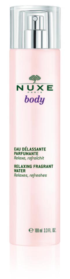 NUXE Água Relaxante Perfumada 100ml PVP €28,90.