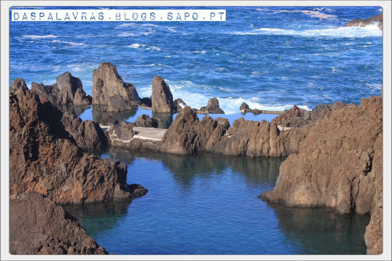 Piscinas naturais de Porto Moniz - daspalavras.blogs.sapo.pt