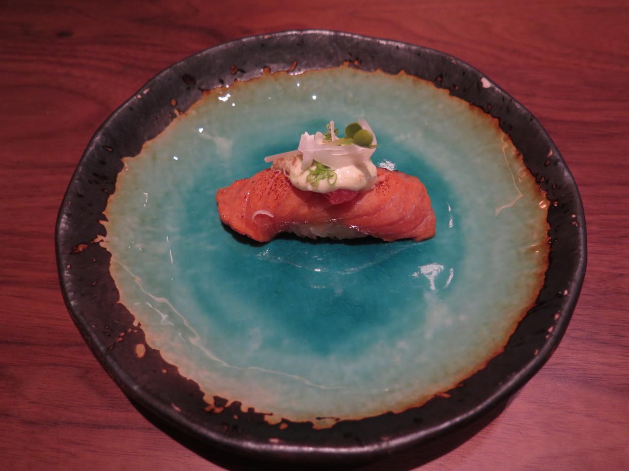 WARM EEL thai basil, kabayaki, kyoto sansho