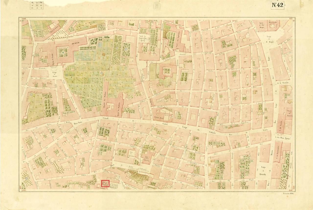 Atlas da carta topográfica de Lisboa,n 42, de Fil