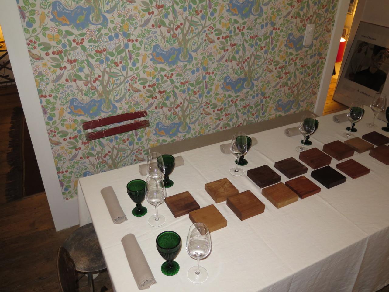Mesa para oito pessoas