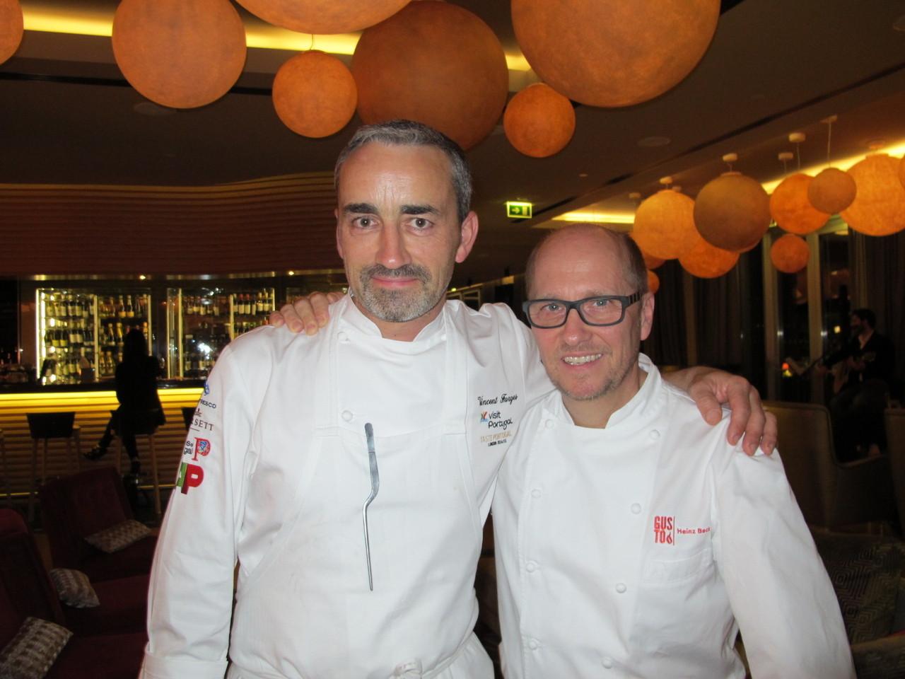 Vincent Farges e Heinz Beck