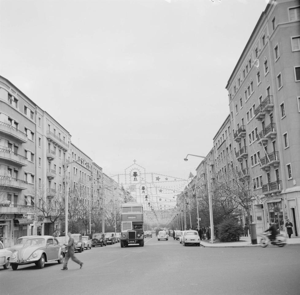 Av. de Guerra Junqueiro, Lisboa (A. Madureira, 1960)