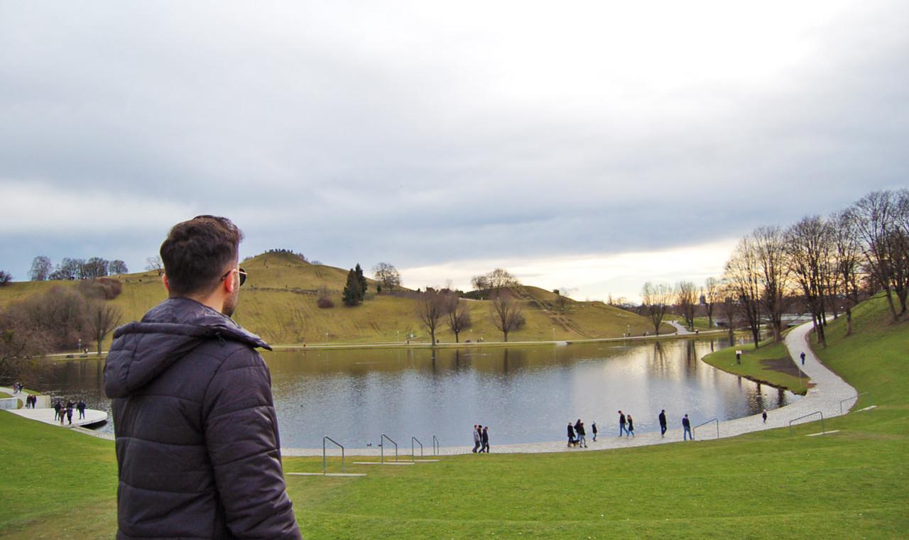 Jardins do Parque Olímpico
