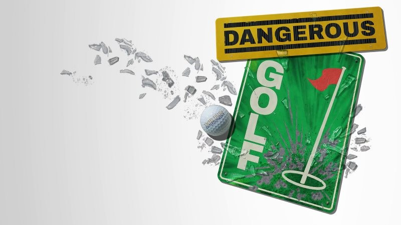 Dangerous Golf - logo