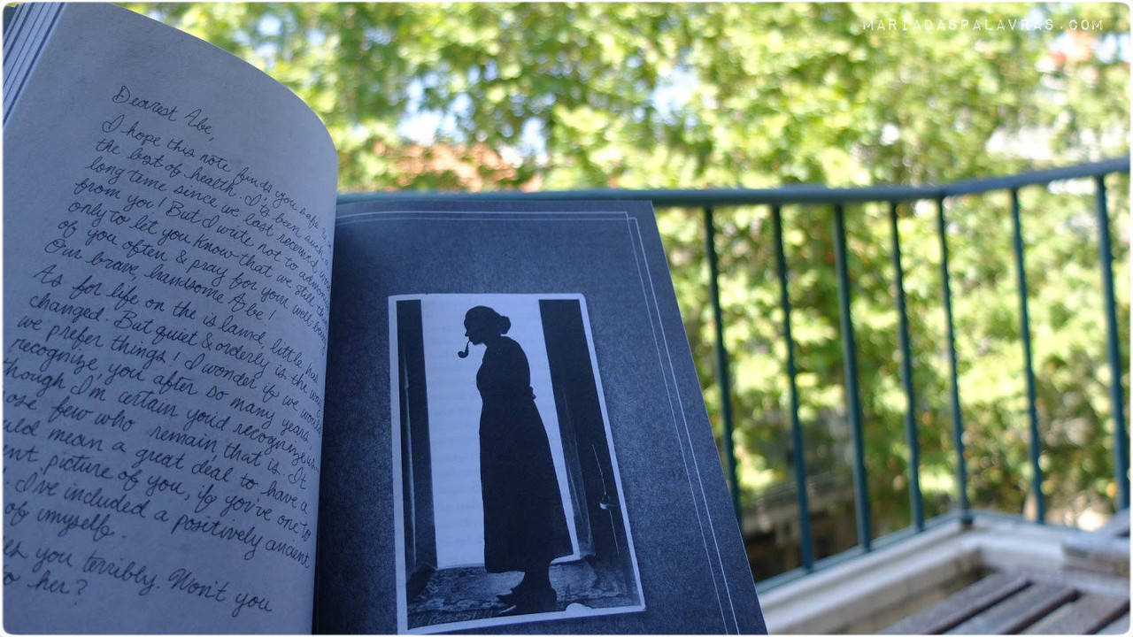 Miss Peregrine's Home for Peculiar Children | O Livro (carta)